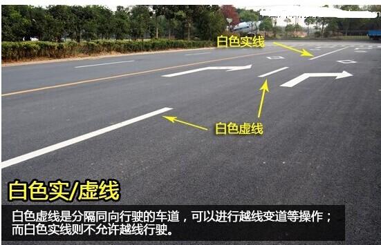 新手必读道路交通标线大全及图解 转载